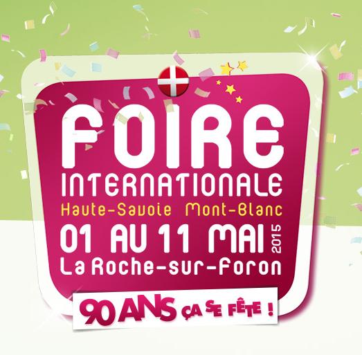 Retrouvez-nous à la Foire internationale <br>de La Roche-sur-Foron !