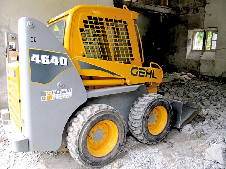 Chargeuse compacte à pneus 0,98 m