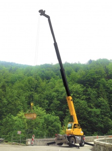 Chariot télescopique rotatif 21 m