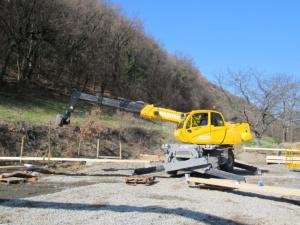Chariot télescopique rotatif 16 m