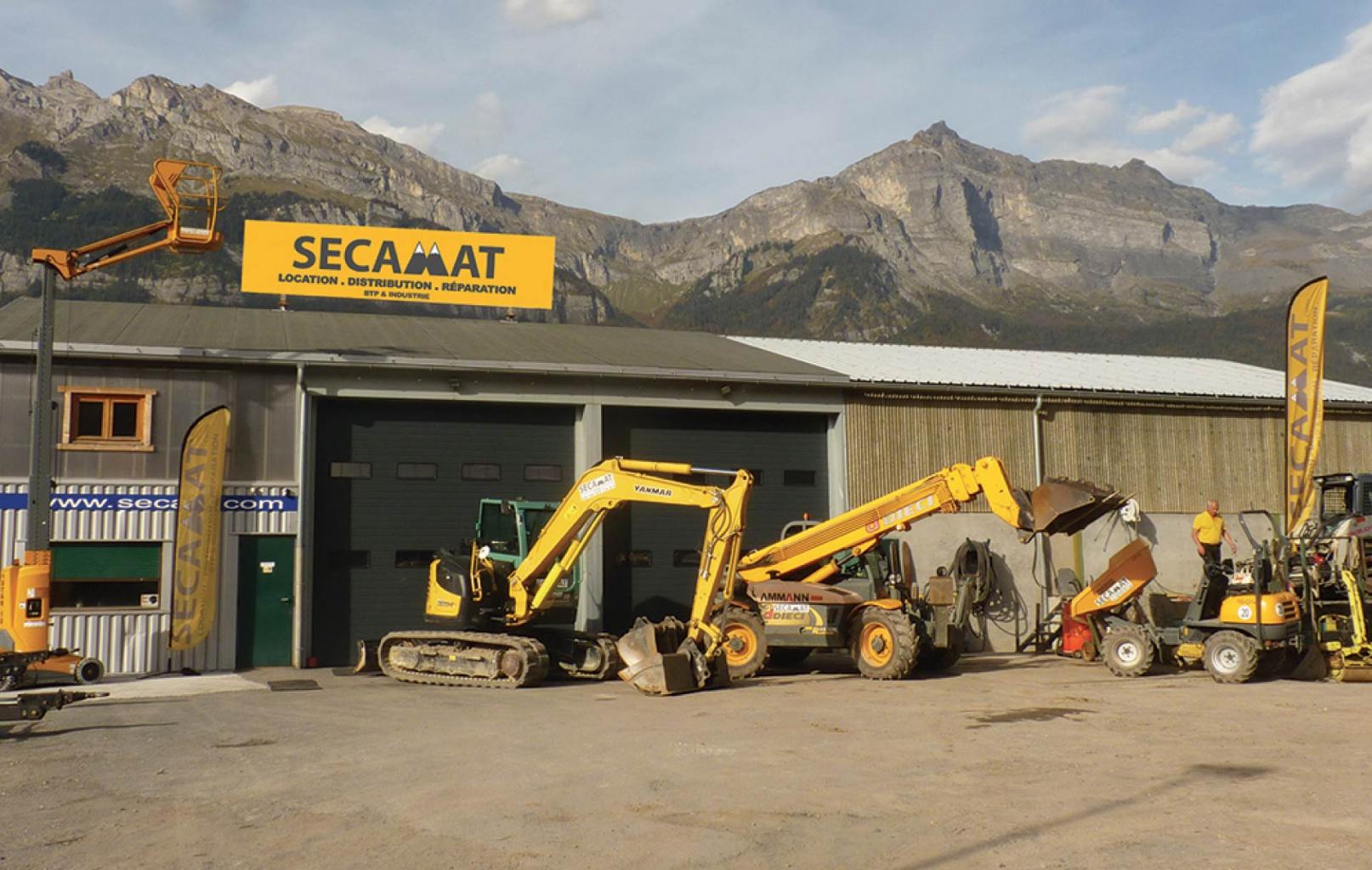 SECAMAT Passy Mont-Blanc