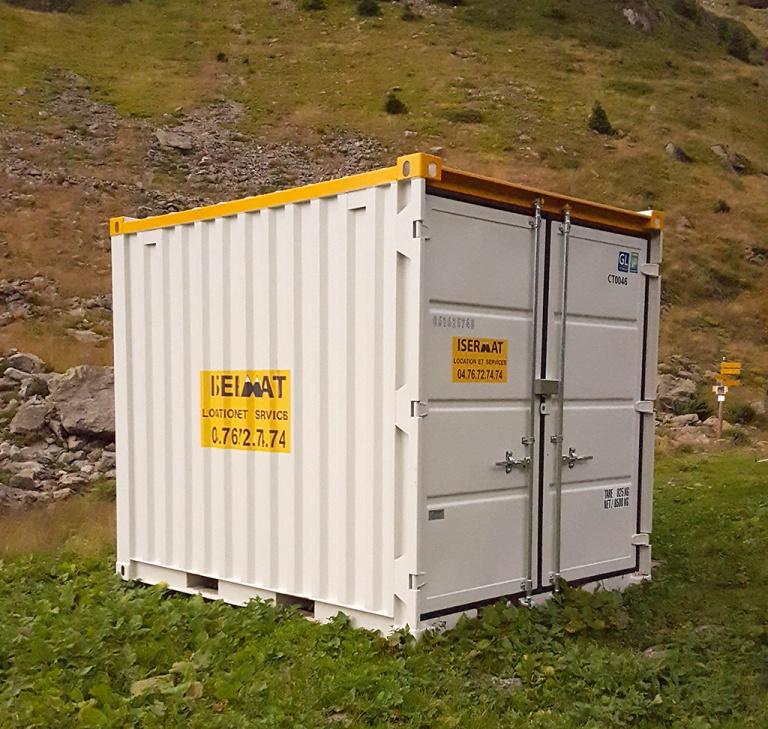 Container 7 m3 rayonnage + électricité
