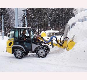 Fraise à neige & chaines