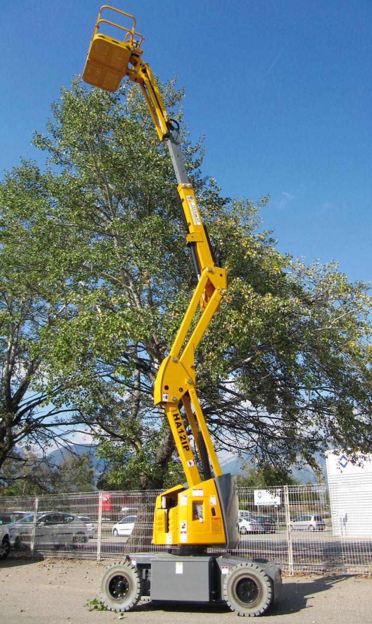 Flèche articulée électrique 12 m