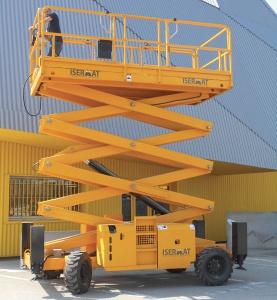 Nacelle plateforme longue 4 m extension 2 x 1 m