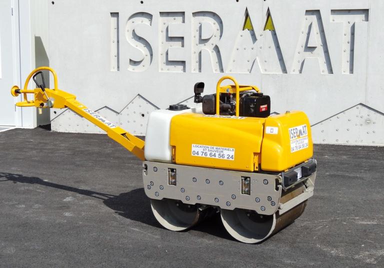 Rouleau duplex 650 kg démarrage électrique
