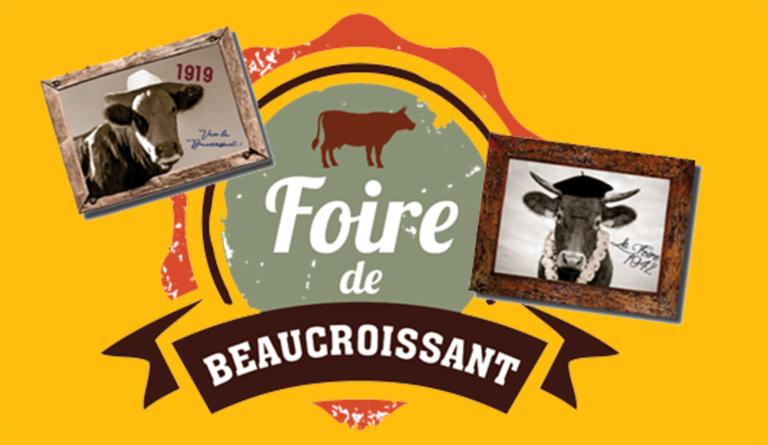 Bienvenue à la 800e foire de Beaucroissant, du 13 au 15 septembre.