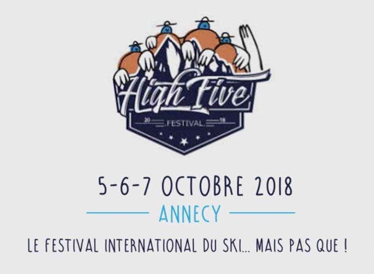 En collaboration avec Isermat-Secamat pour le high five Festival à Annecy