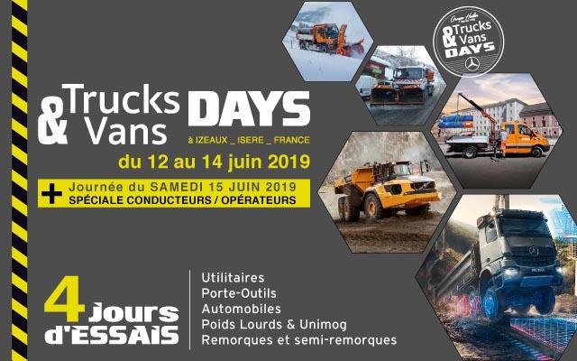 Journées Trucks & Vans days !