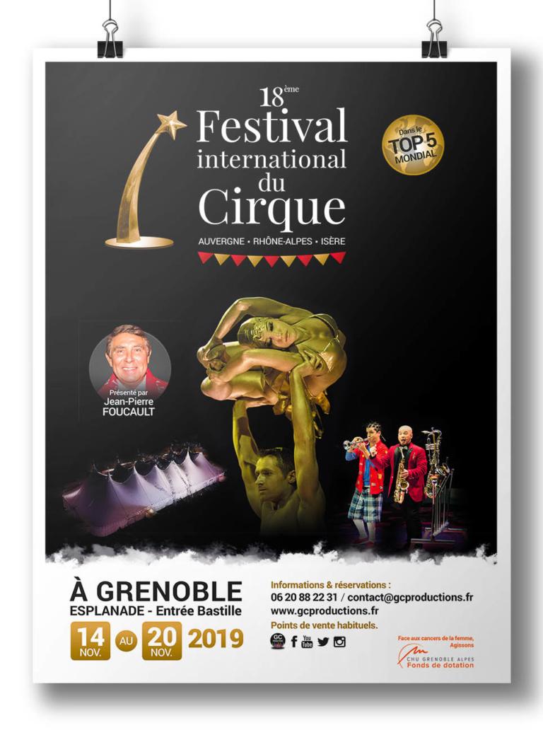 Partenaire du Festival International du Cirque