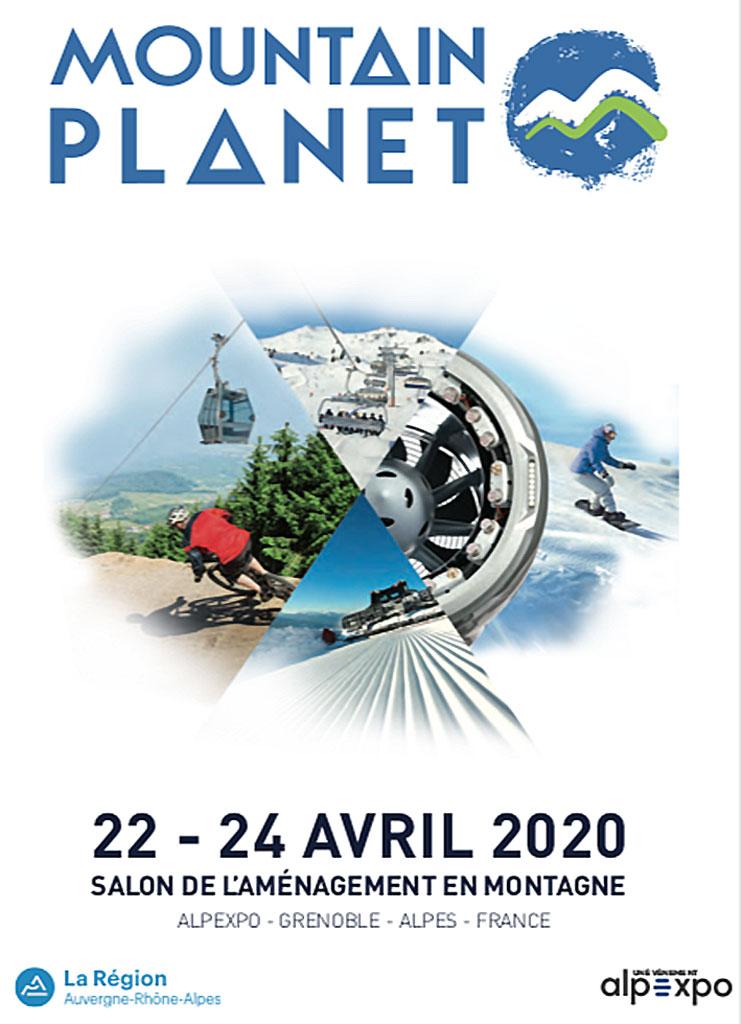 24e salon Mountain Planet du 22 au 24 avril 2020